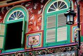 Melaka, Malaysia: Nyonya Heritage House Facade — Stock Photo