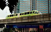 Kuala Lumpur, MalaysiaL  KL Rapid Transit Monorail — Stock Photo