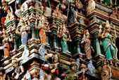 Kuala Lumpur, Malaysia: Sri Maha Mariamman Hindu Temple — Stock Photo