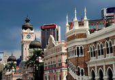 Kuala Lumpur, Malaysia: Merdeka Square — Stock Photo