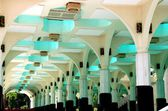 Kuala Lumpur, Malaysia:  Interior of Masjid Asy-Syakirin — Stock Photo