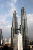 Kuala Lumpur, Malaysia: The Petronas Towers — Stock Photo