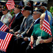 NYC: Veterans with Flags at Memorial Day Service — Stock Photo #51756361