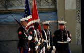 NYC: U. S. Marines at Memorial Day Ceremonies — Stock Photo