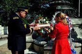 NYC: Memorial Day Ceremonies — Stock Photo