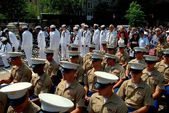 NYC: Marines and Sailors at Memorial Day Ceremponies — Stock Photo