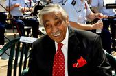NYC: Congressman Charles Rangel — Stock Photo