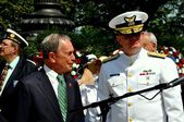 NYC: Mayor Michael Bloomberg at Memorial Day Services — Stock Photo