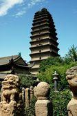 Xi'an, China: Lesser Wild Goose Pagoda — Stock Photo