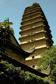 Xi'an, China: Lesser Wild Goose Pagoda — Stockfoto