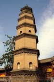 Xi'an, China: Hua Pagoda of Bao Qing Temple — Photo