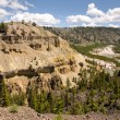 Canyon of Yellowstone — Stock Photo