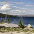 Stock Photo: Yellowstone Lake