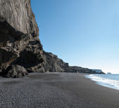 在冰岛 vik 的海滩 — 图库照片