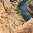 Colorado River in the horseshoe — Stock Photo