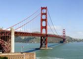 金门大桥的概述 — 图库照片