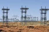 Power lines — Стоковое фото