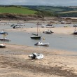 Stock Photo: Low tide in Cornwall