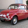Stock Photo: Old Fiat 500