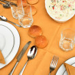 Set table — Stock Photo #32841955