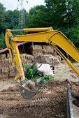 Excavator — Стоковое фото