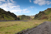 Mountains in Iceland — Stock fotografie