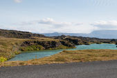 Myvatn Lake — Stock Photo