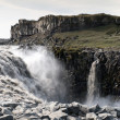Waterfall in Iceland — Stockfoto