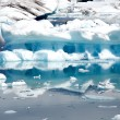 Stock Photo: Jokulsarlon lake