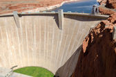 Dam at Lake Powell — Stock Photo
