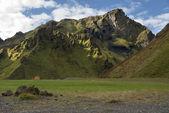 Montañas en islandia — Foto de Stock