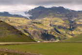 Mountains in Iceland — Stock Photo