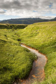 Mountains in Vik in Iceland — Stock Photo
