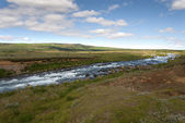 River with rapids in Iceland — Stock Photo