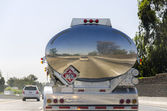 Tanker truck in California — Stock Photo