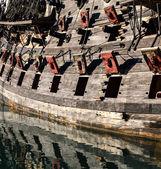 Pirates cannons — Foto de Stock