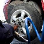 Tire Change — Stock Photo #35450803