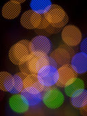 Circle Colorful Bokeh — Stockfoto