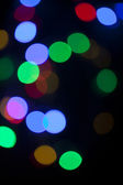 Circle Colorful Bokeh — 图库照片