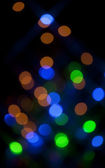Circle Colorful Bokeh — Stock Photo