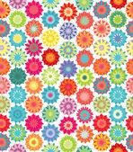 Flores decorativas — Vetor de Stock