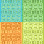 Decorative textures — Stock Vector
