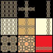 Dekorative Elemente — Stockvektor
