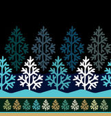 Winter seamless pattern — Stock Vector
