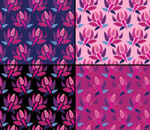 Paisley pattern set — Stock Vector