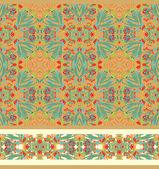 Decoratieve orient texturen — Stockvector