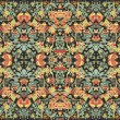 Seamless abstract floral pattern — Imagen vectorial