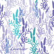 Seamless lavender pattern — Stock Vector #33262371