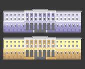 University building — Stock Vector