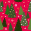 Christmas wrapping paper — Stock Vector